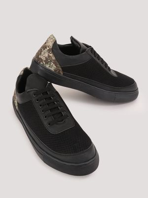 Marcello & Ferri Sneakers With Camo Heel Tab Detailing
