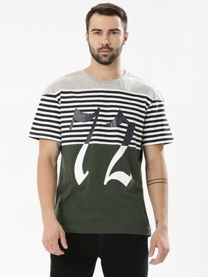 KOOVS Colour Block T-Shirt