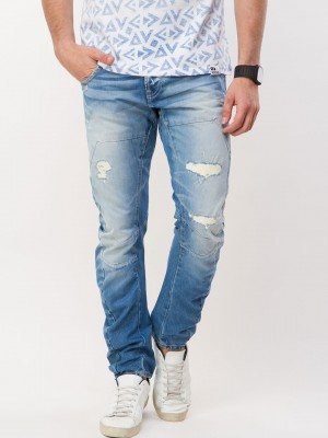 VOI JEANS Rip & Repair Twisted...
