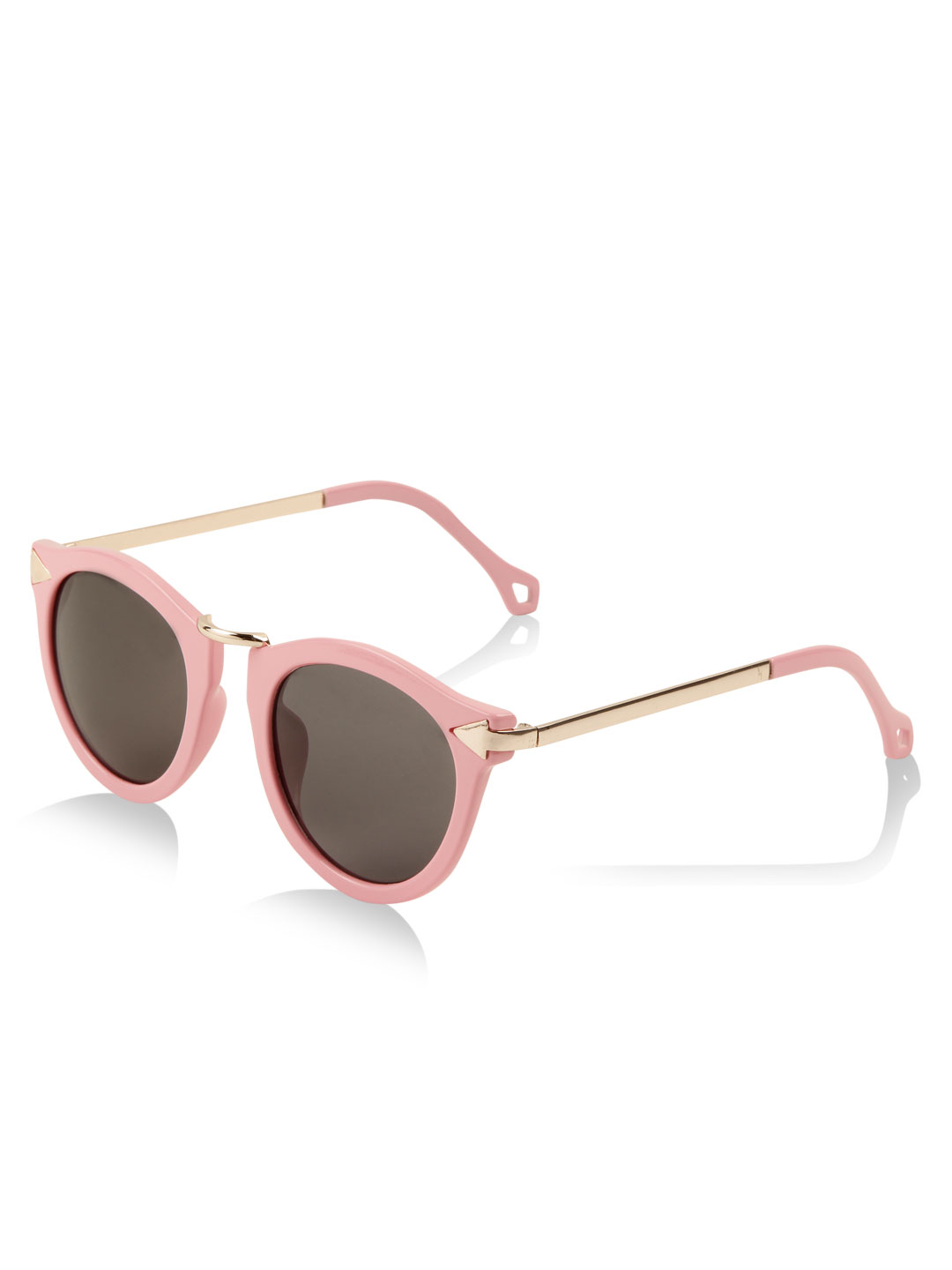Style Fiesta Pink Rounded Cat Eye Sunglasses 1