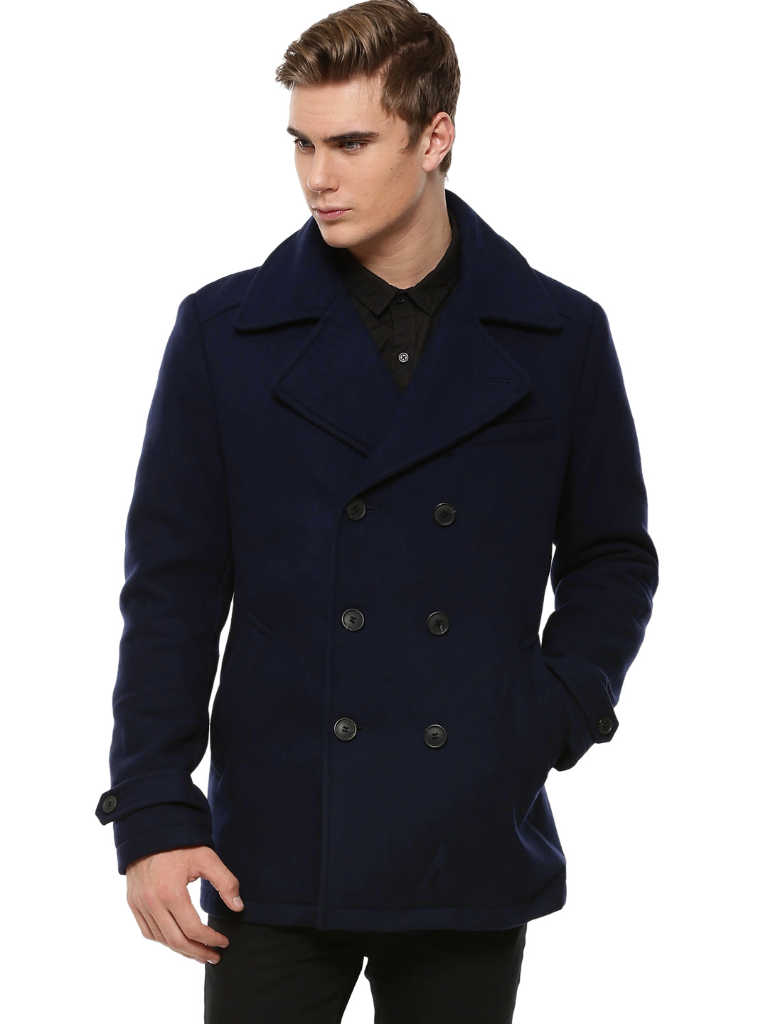 Selected Homme Night Sky Notched Collar Jacket 1