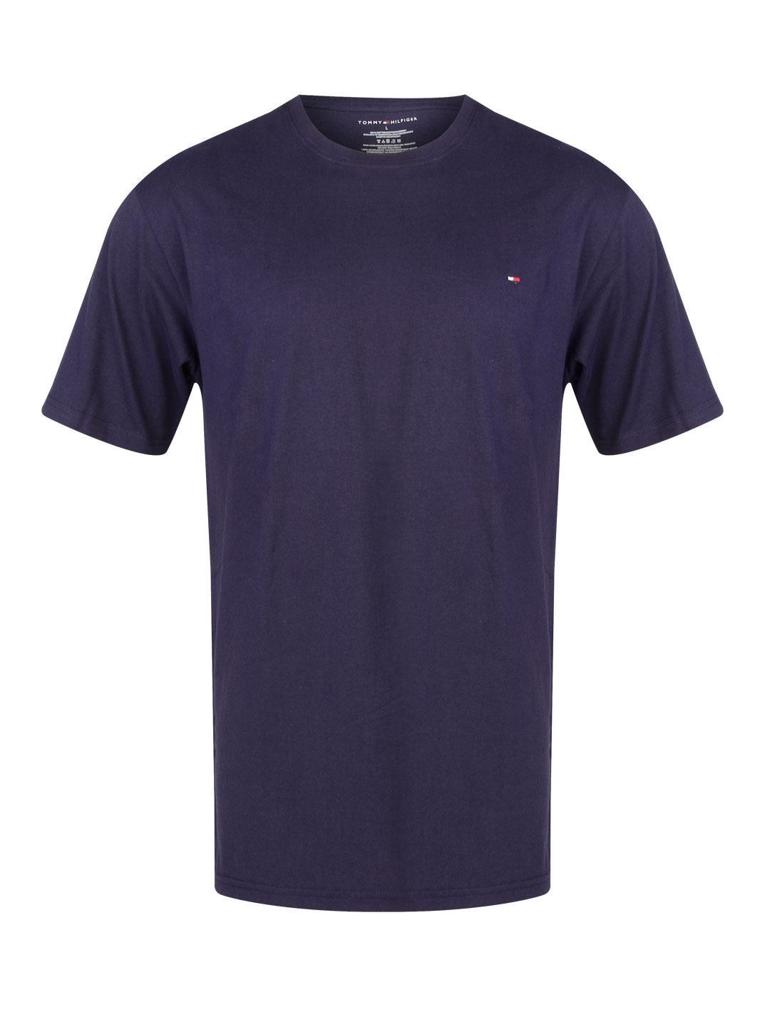 Tommy Hilfiger Navy Classic Crew Neck Tee 1