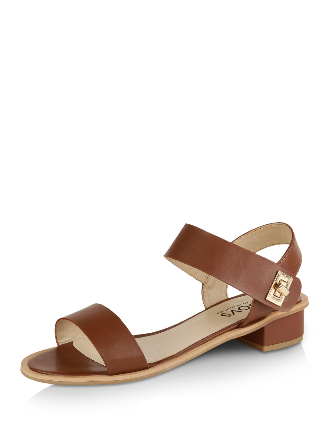 KOOVS Block Heel Sandals...