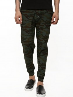 KOOVS Camo Cuffed Trousers