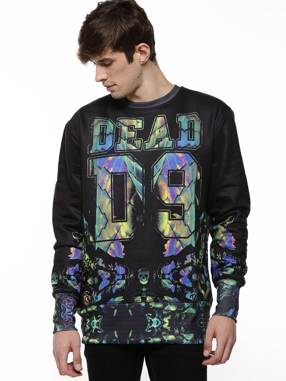 Dead Lovers Multi Snake Sweater 1