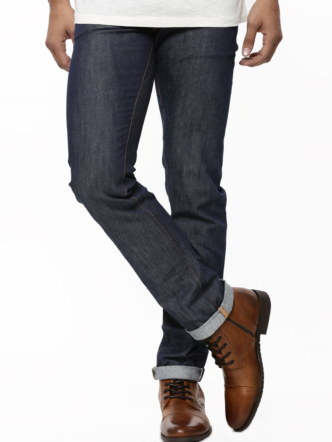 Korra Light Indigo Selvedge Slim Fit Jeans 1