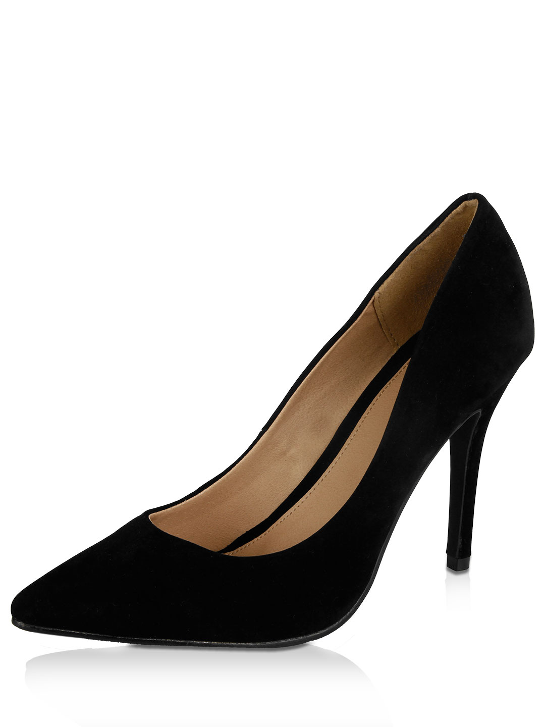 No Doubt Black Classic Pointed Pumps 1