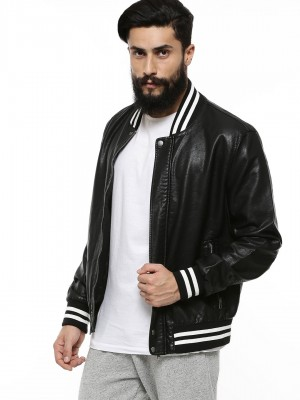ONLY & SONS PU Bomber Jacket W...