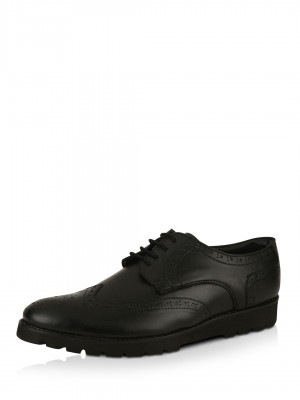 KOOVS Faux Leather Brogues...