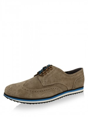 KOOVS Suede Brogue Sneakers...
