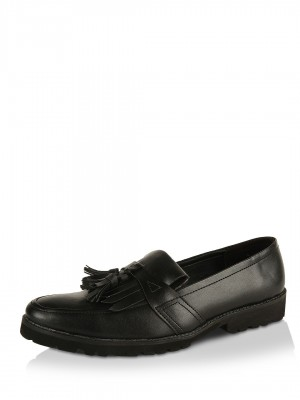 KOOVS Faux Leather Loafers...