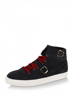 KOOVS Leather Strap Hi Top Tra...