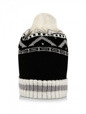KOOVS Pattern Bobble Cap...