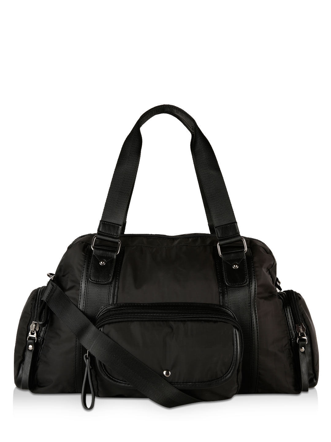 Voi Jeans Black Holdall Bag 1