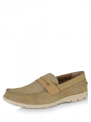 FAMOZI Suede Loafers...