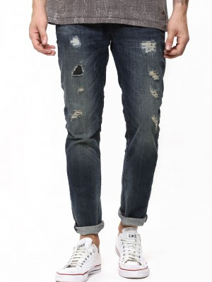 ONLY & SONS Mid Wash Tapered J...