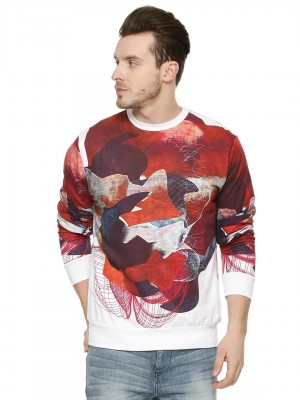 X.O.Y.O Abstract Print Sweatsh...