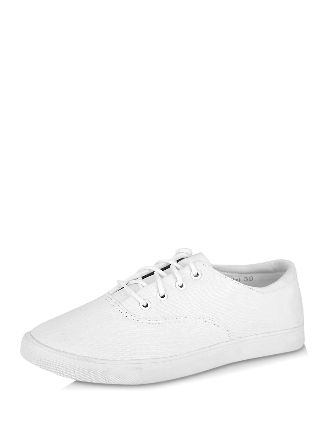 My Foot Couture White MY FOOT Lace Up Tennis Shoes 1