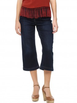 New Look Wide Leg Denim Culottes