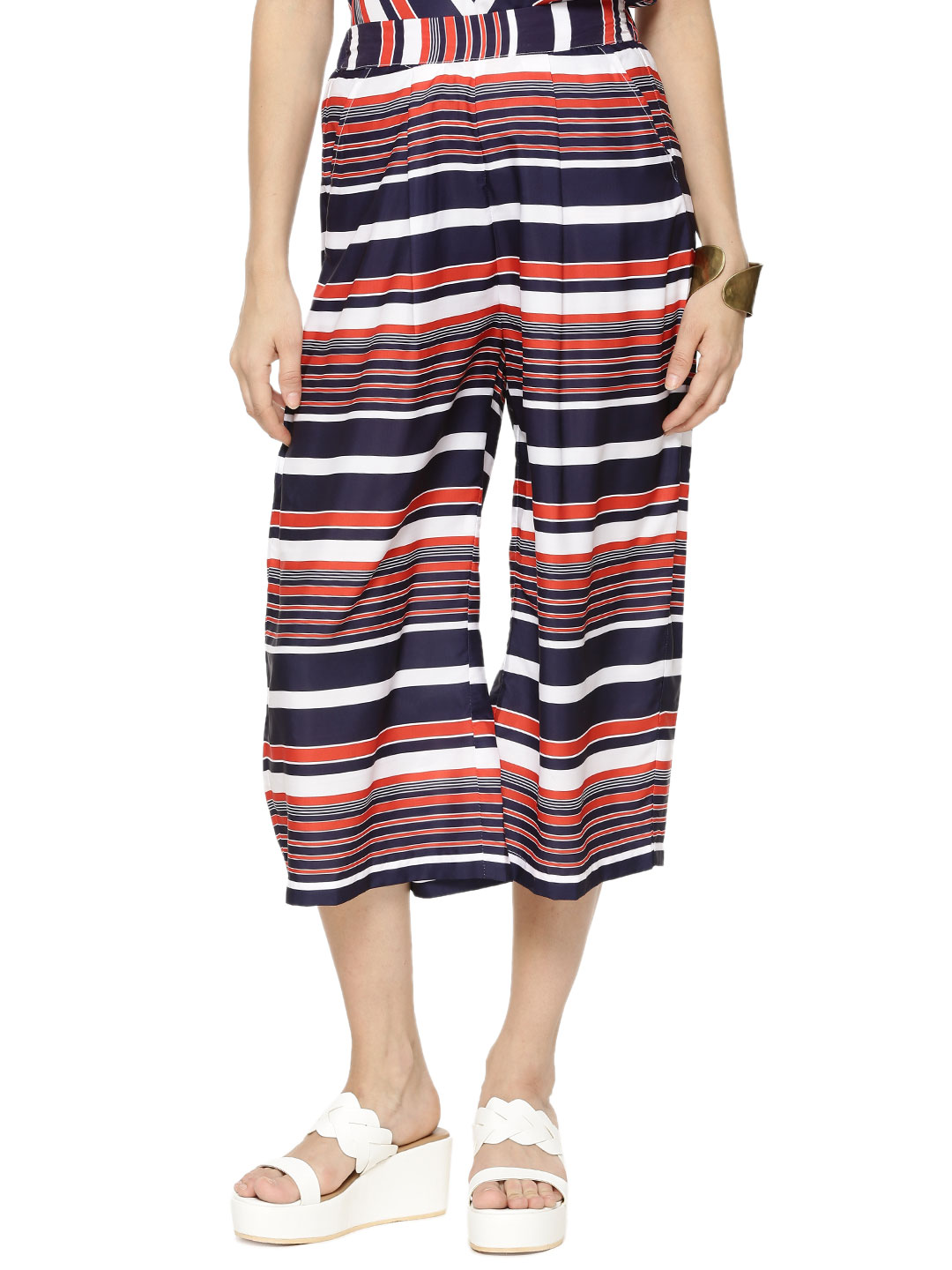 KOOVS EXCLUSIVE STRIPE PRINT W...