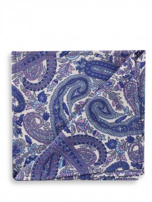 KOOVS Paisely Print Pocket Squ...