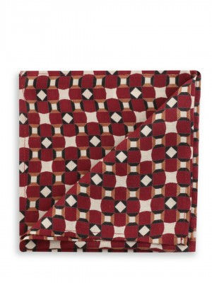 KOOVS Geometric Print Pocket S...