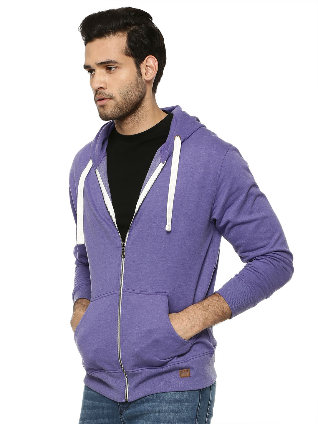 Blue Saint LIBERTY BLUE Hoodie With Front Zip 1