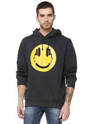 ADDICT Smiley Face Hoodie...