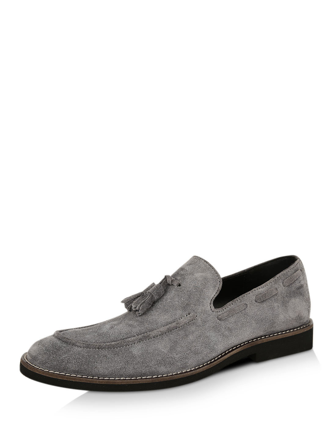 Griffin Suede Tassled Loafers...
