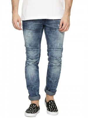 BLUE SAINT Ripped Jeans With K...