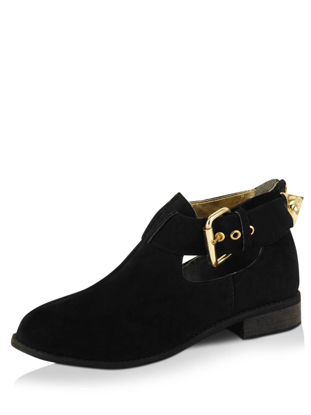 Zebba Black Buckle Boots 1
