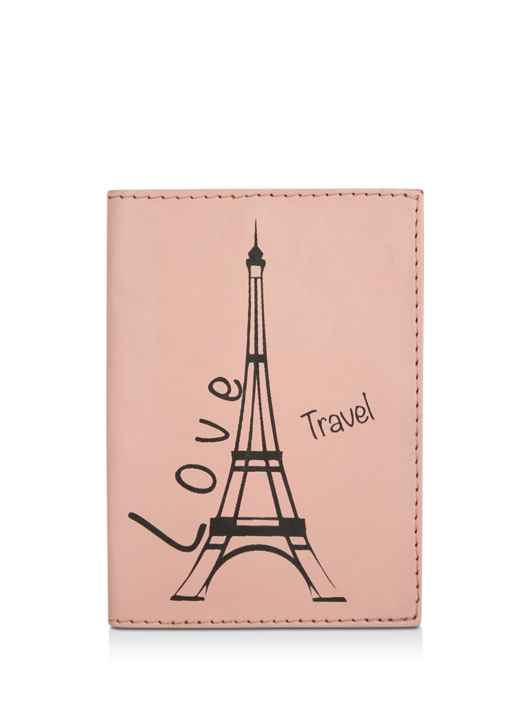 KOOVS Pink Love Travel Passport Holder 1