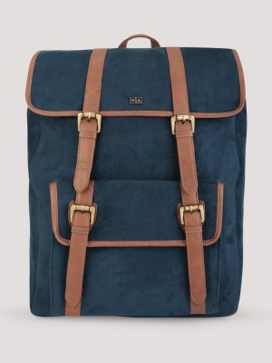ATORSE Suede Backpack With Con...