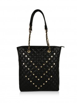 Paris Belle Studded Tote Bag