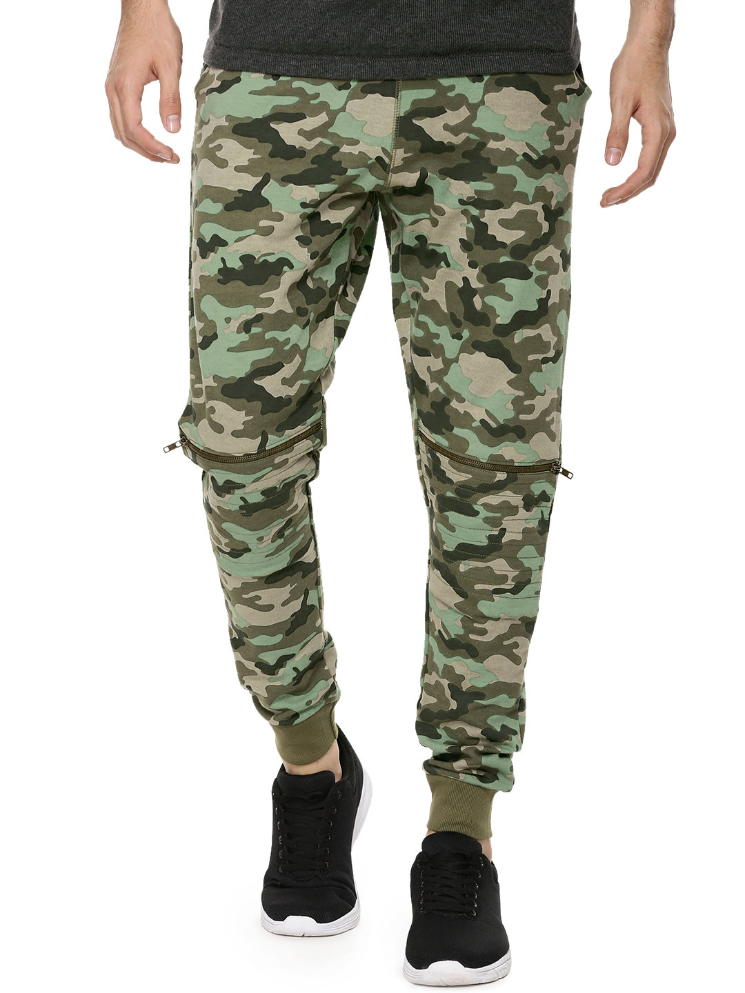 Garcon Camo Joggers With Knee ...