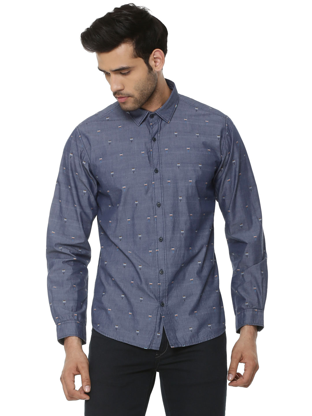 Pepe Jeans Yarn Dyed Shirt In ...