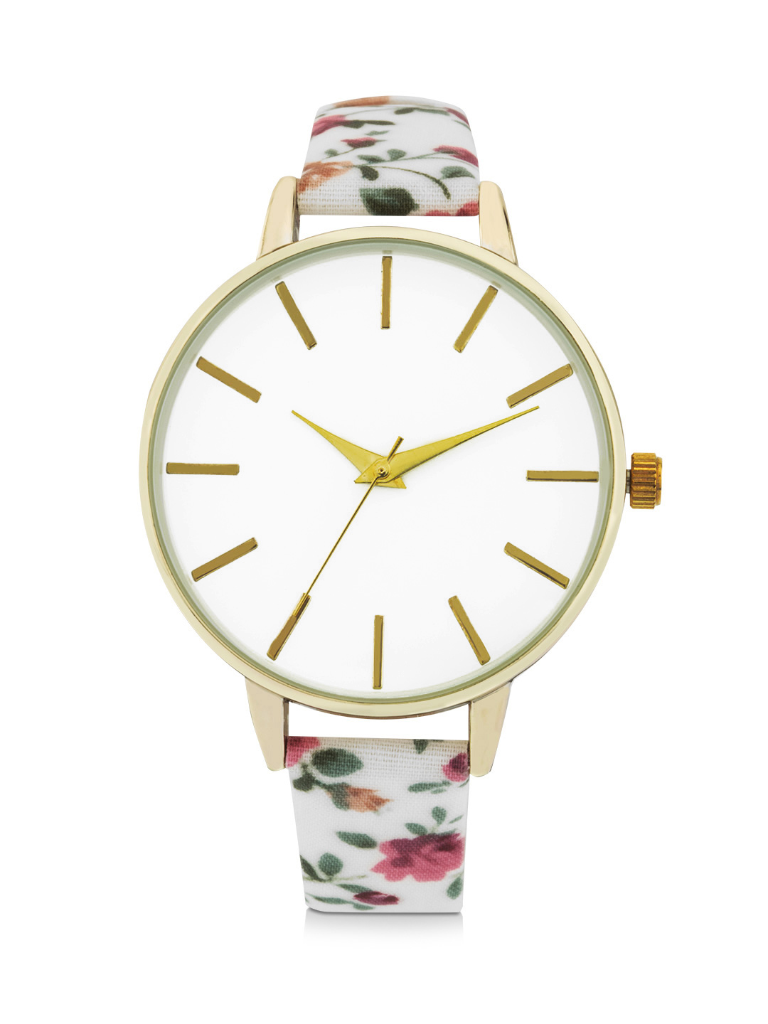Forever New Multi Floral Strap Watch 1