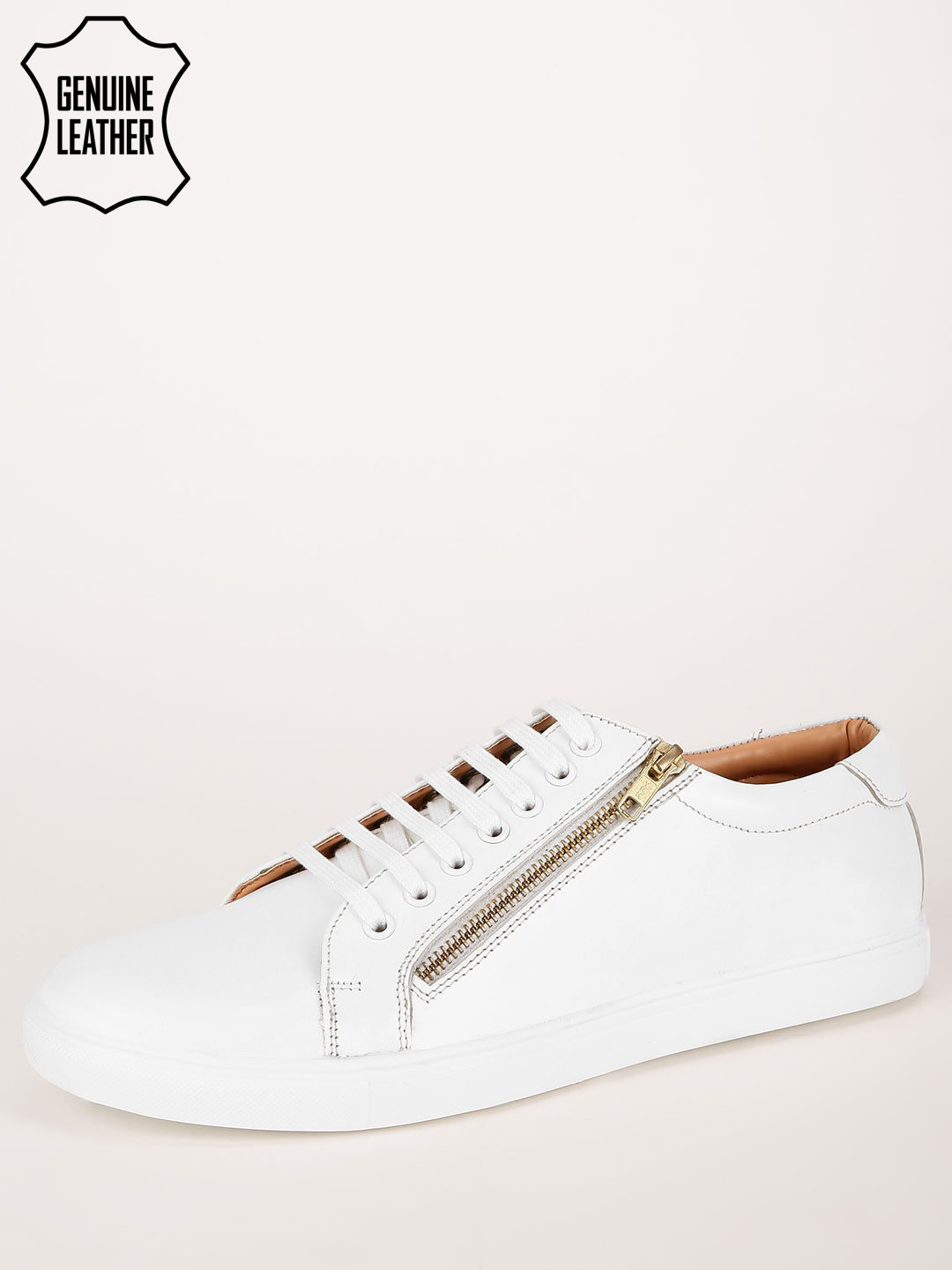 Griffin Leather Sneakers With ...
