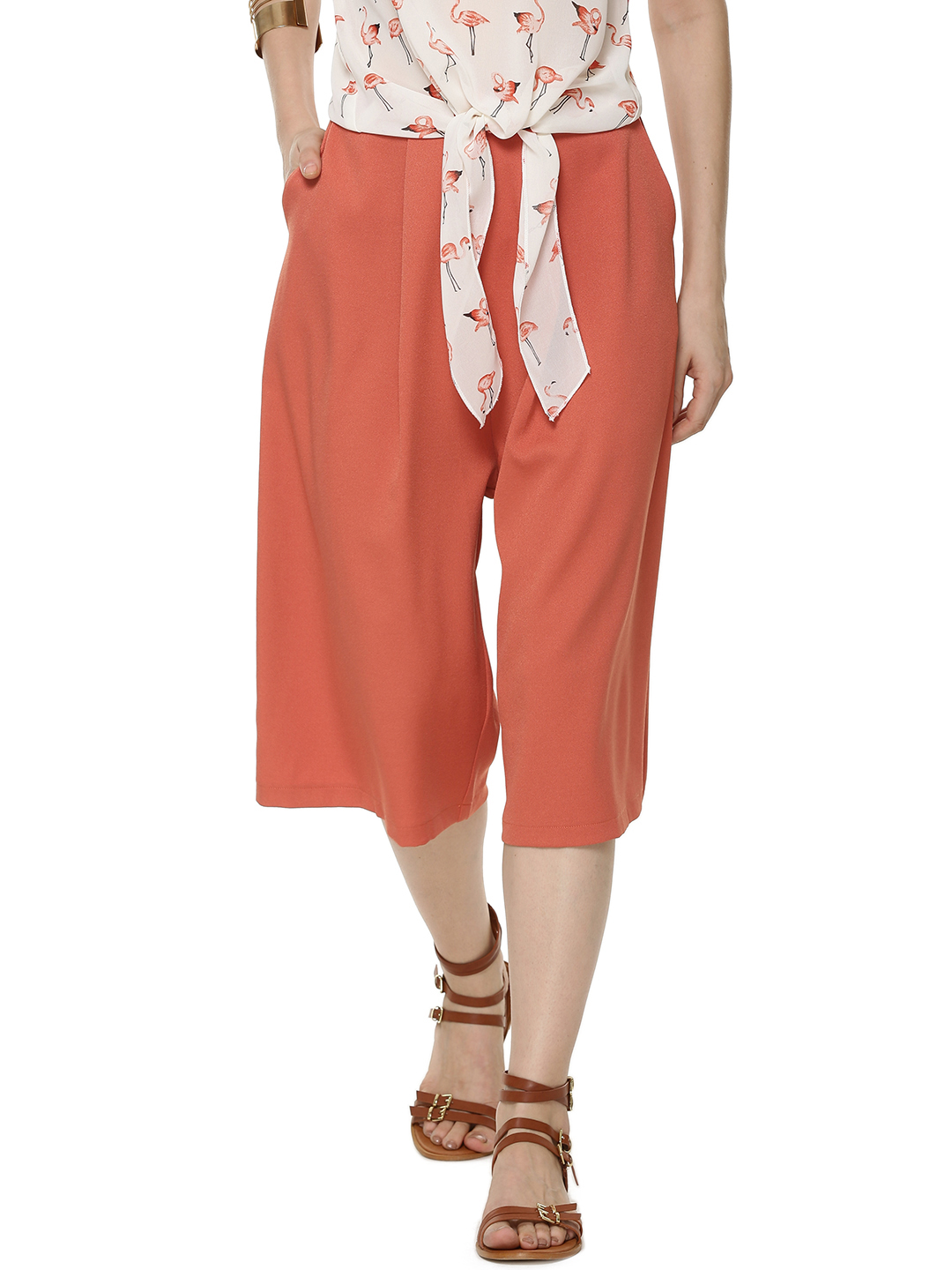 Fashion Union Pleated Culottes...