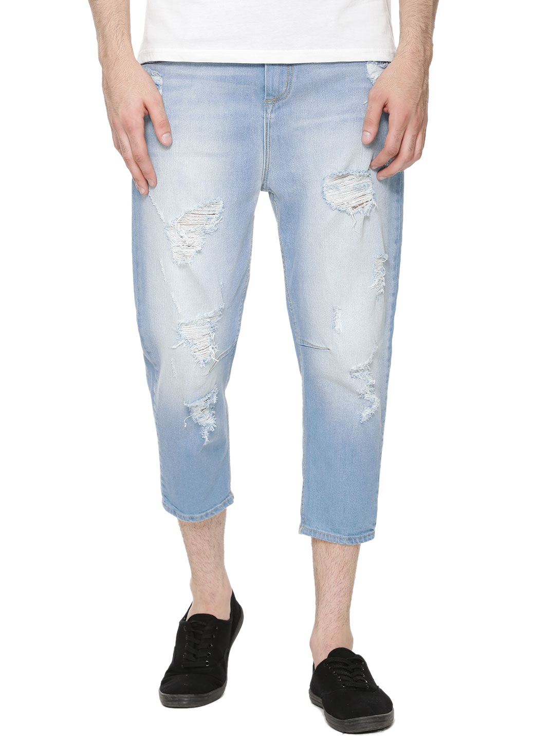 Adamo London Drop Crotch Jeans...