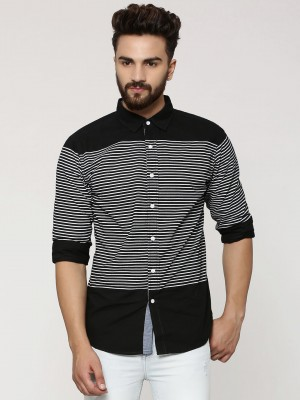 NOBLE FAITH Striped Shirt With...
