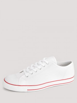 KOOVS Derby Lace Up Cupsole Ru...