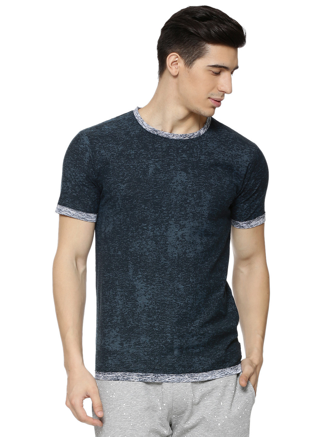 Only & Sons Tonal Crew Neck T-...