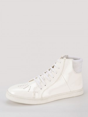 KOOVS High Top Trainers With P...