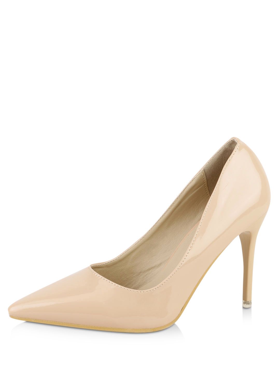 My Foot Couture Nude Heeled Sandals 1