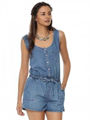 NEW LOOK Denim Playsuit...