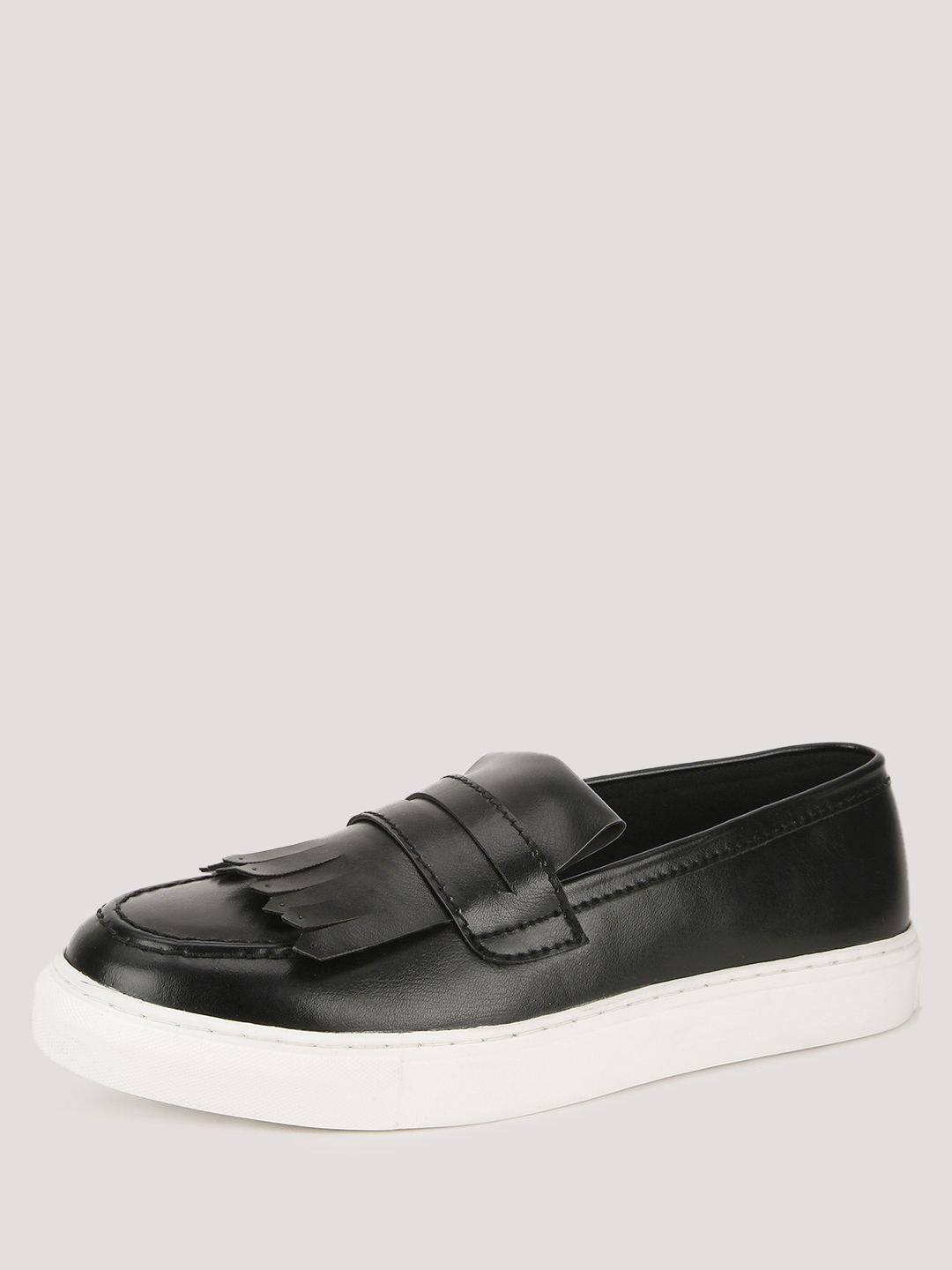 KOOVS Heavy Cup Sole Loafers...