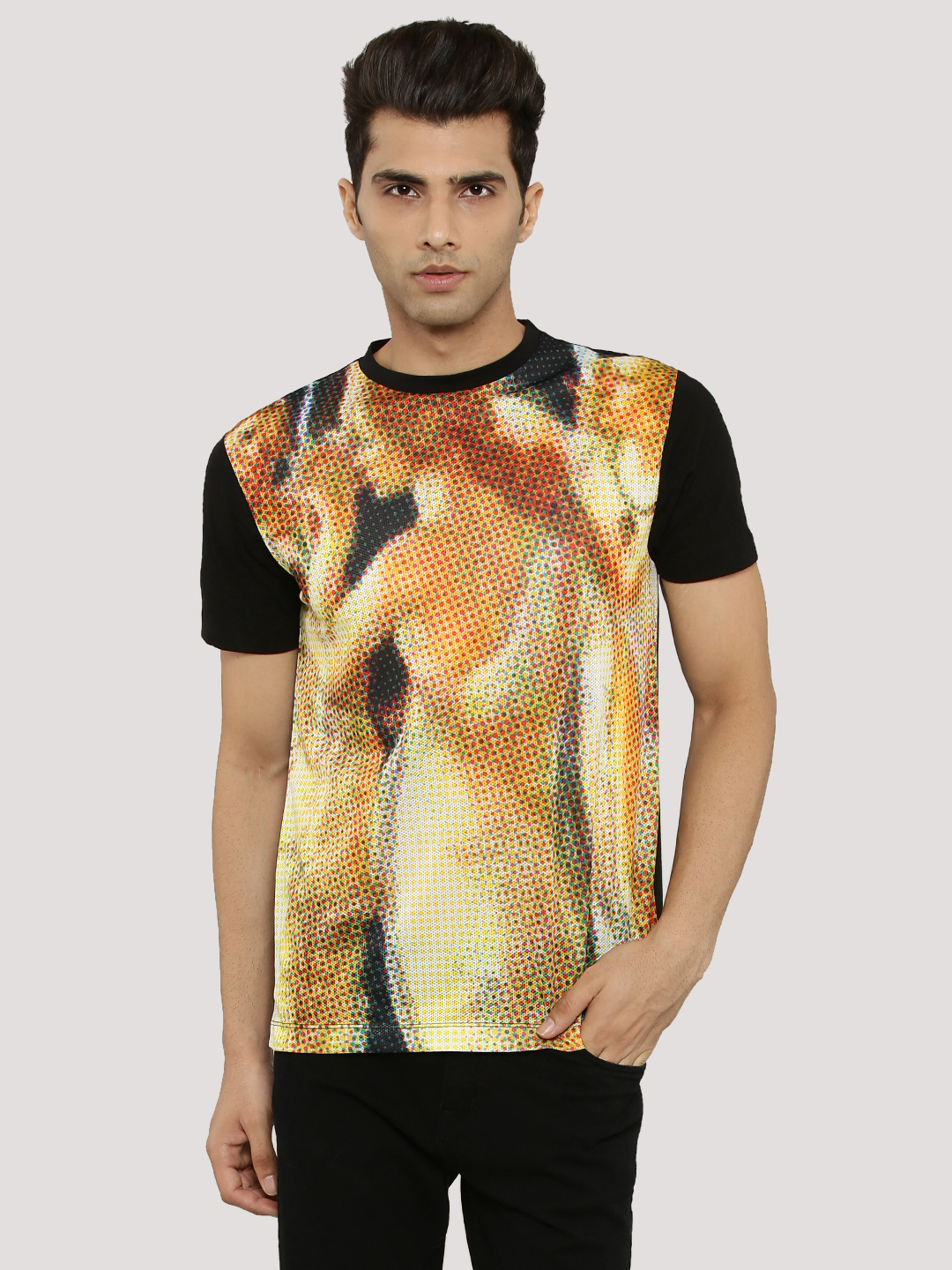 KOOVS Multi Printed T-Shirt 1