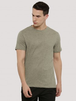KOOVS Back Fishtail Drawcord T-Shirt