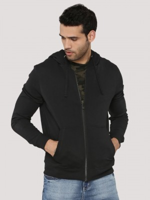 KOOVS Zip Through Hoodie...